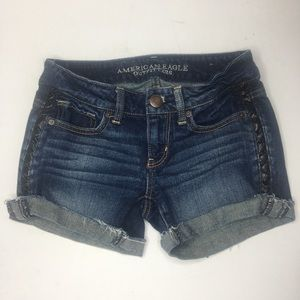 American Eagle Outfitters cutoff jean shorts #116